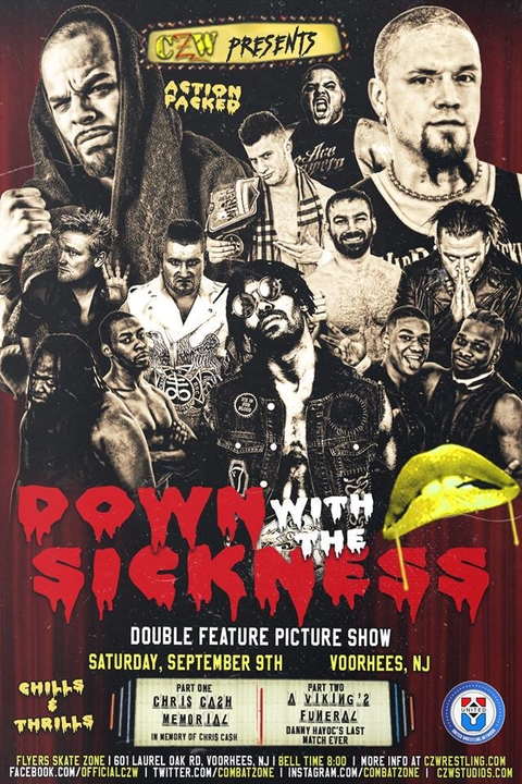 Post image of CZW Down With The Sickness 2017