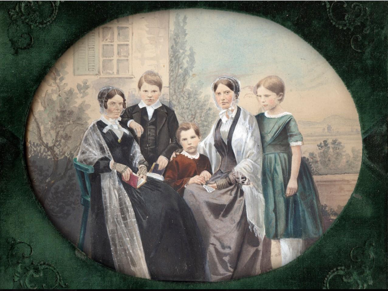 1850. Семейный портрет