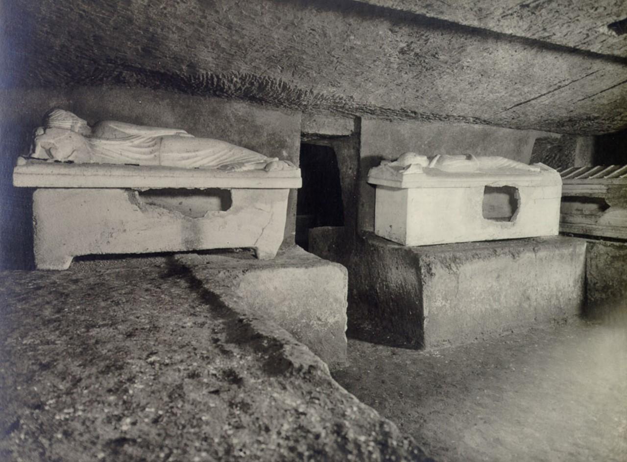 Гробница Саркофагов. Внутренний вид