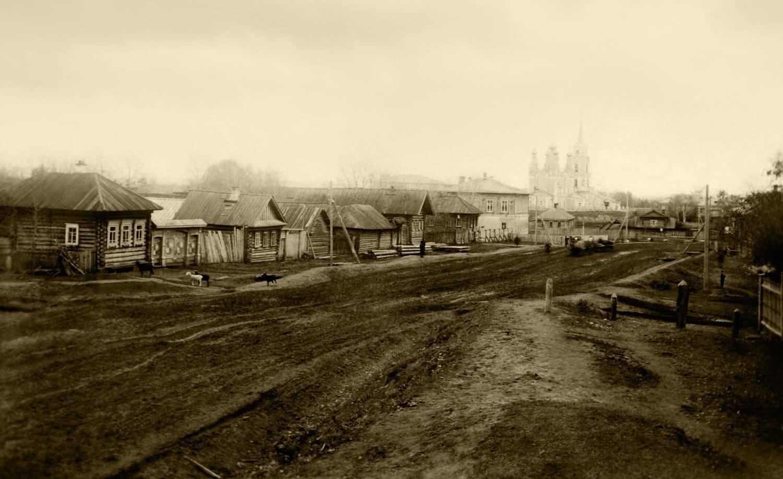 Окрестности Перми. Село Верхние Муллы и Никольская церковь