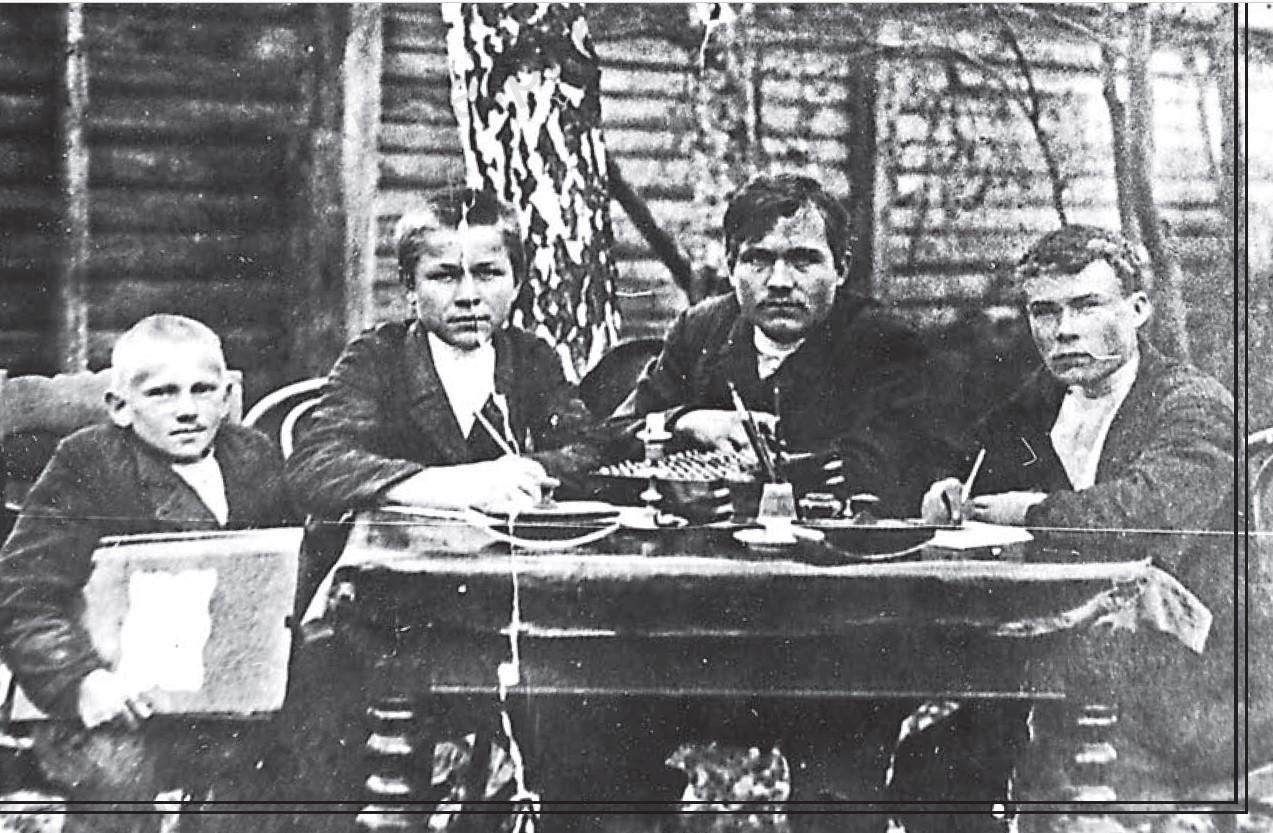 Группа писарей Култаевского уезда. 1916