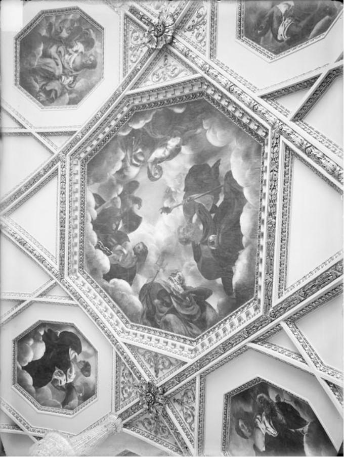 Домовая церковь Сироткина. Роспись потолка