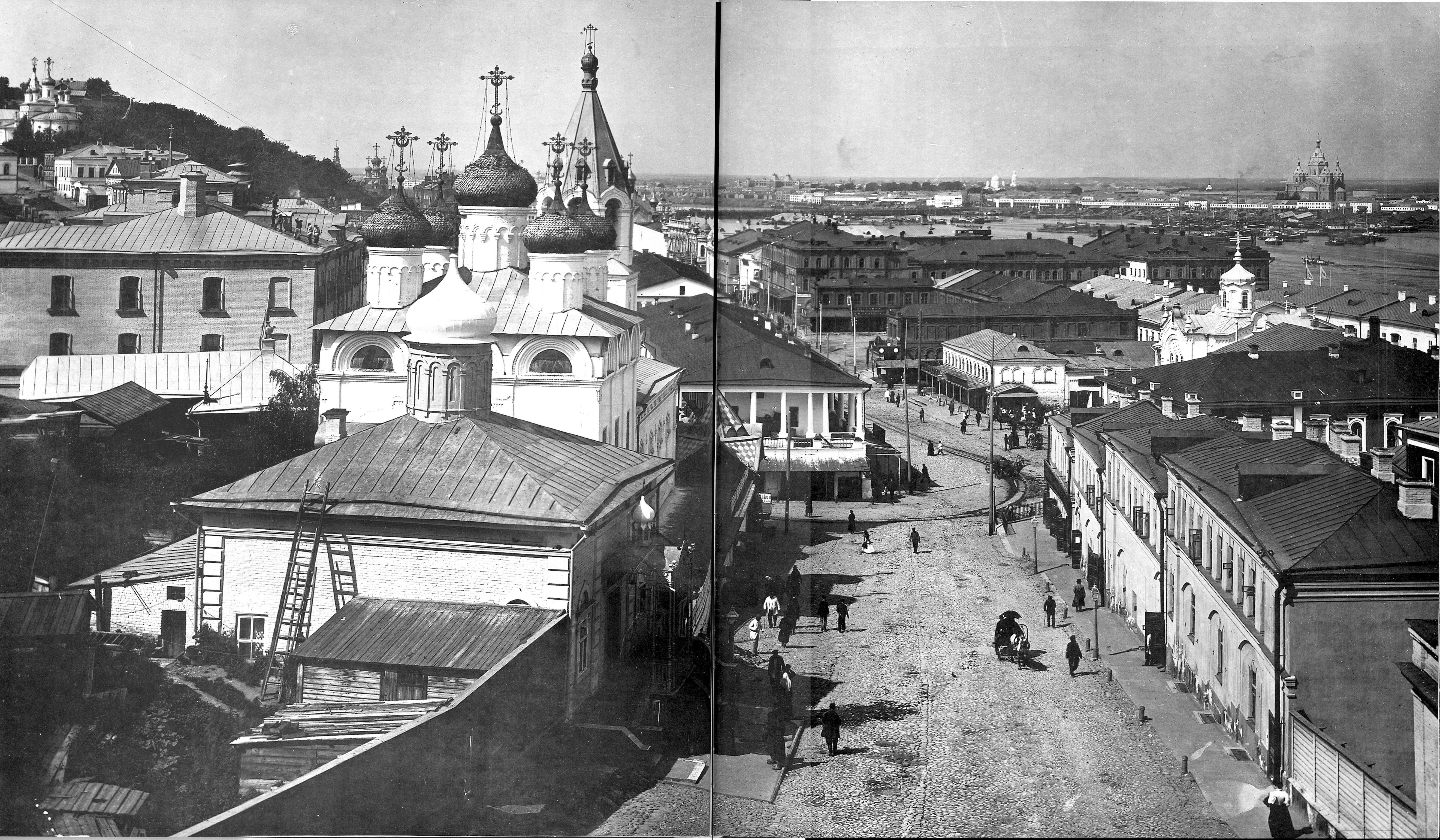 Вид с Ивановской башни Кремля