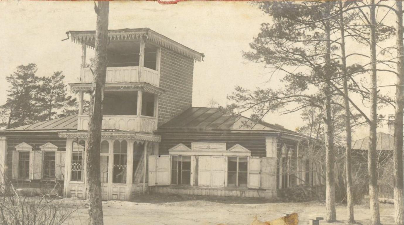 Дворец М.Д.Бутина. Дом Татьяны Мауриц
