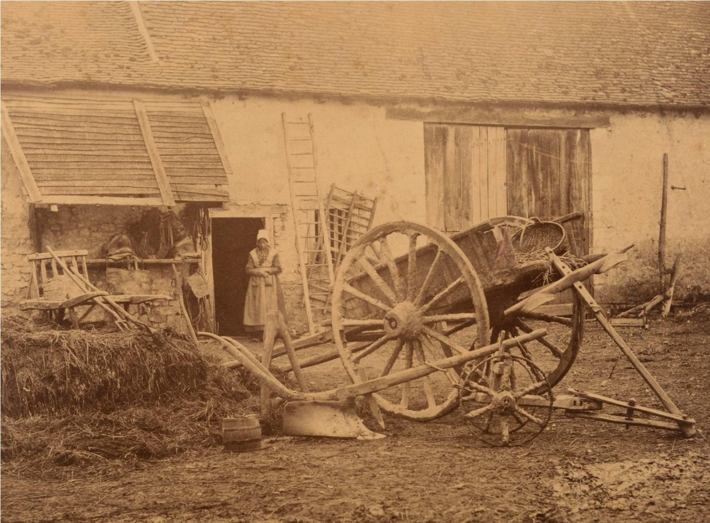 1865. Двор фермы