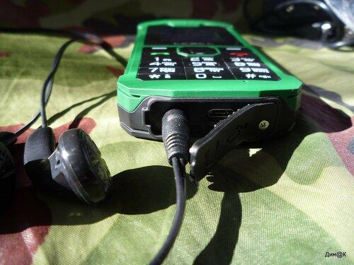 Texet TM-509R (разъемы)