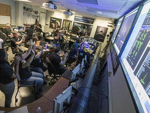 New Horizons совершил звонок на Землю