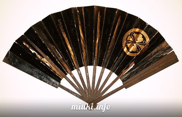 История японских вееров