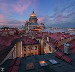 Исаакиевский собор, крыши...
