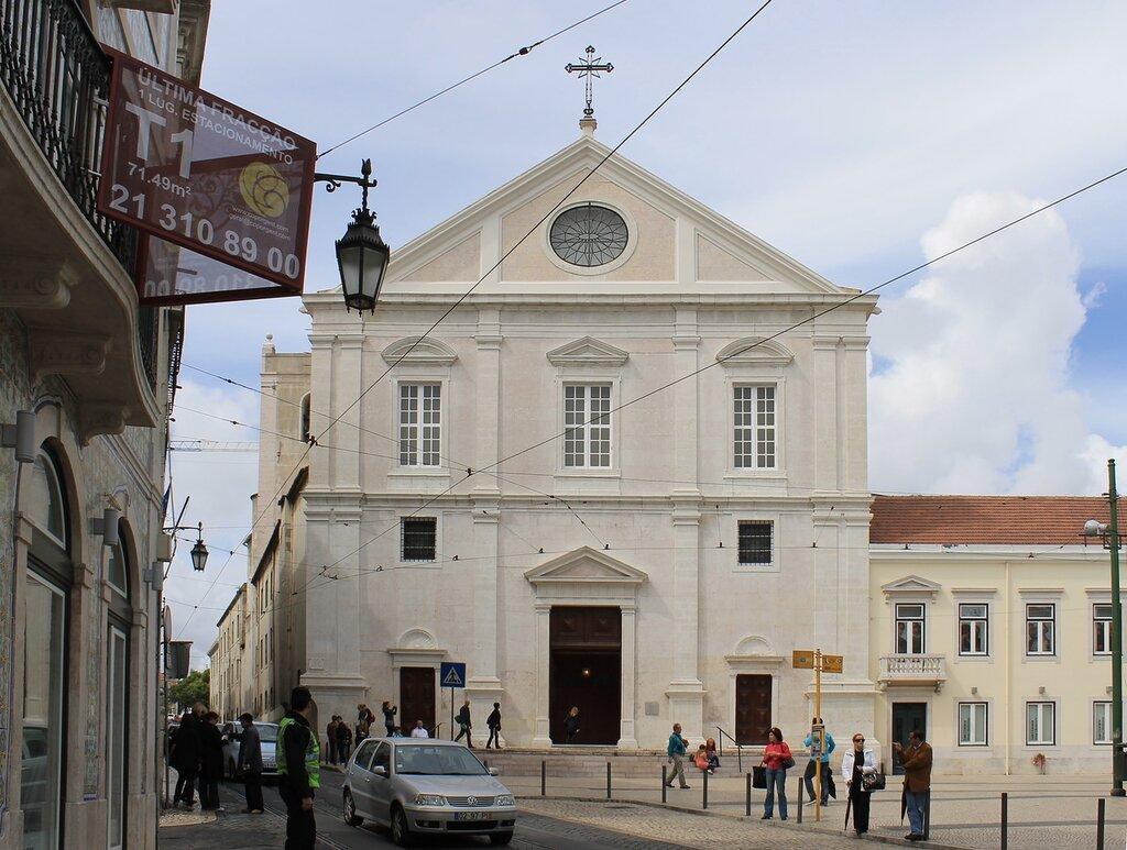 Лиссабон. Церковь Святого Роха. Lisboa, Igreja de São Roque