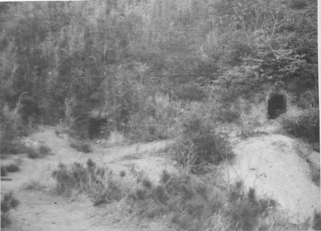 Caves, vicinity of Ashiya, Kyushu Jan 17, 1946