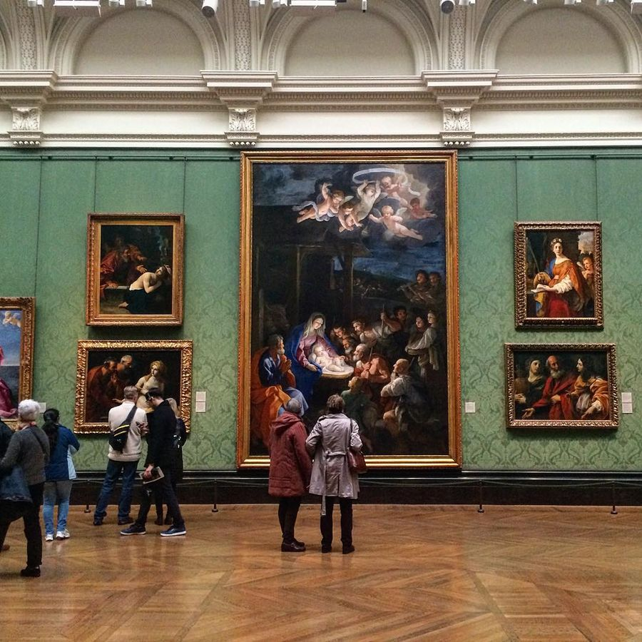 7. Лондонская национальная галерея (Лондон, Великобритания) Художественная галерея ежегодно принимае