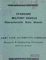 Книга Standard military vehicle: characteristic data sheets. Part 2