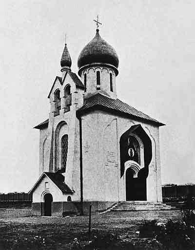 Храм Успeния Богородицы в Ольшанах (1925 г.)
