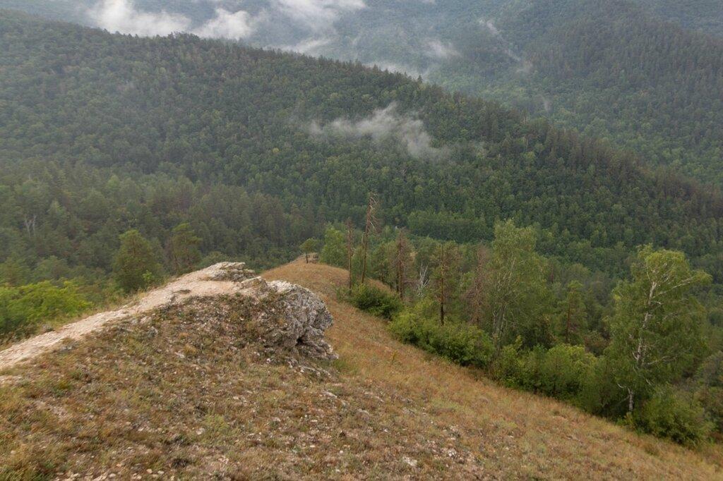 Горный склон, гора Стрельная, Жигулевские горы