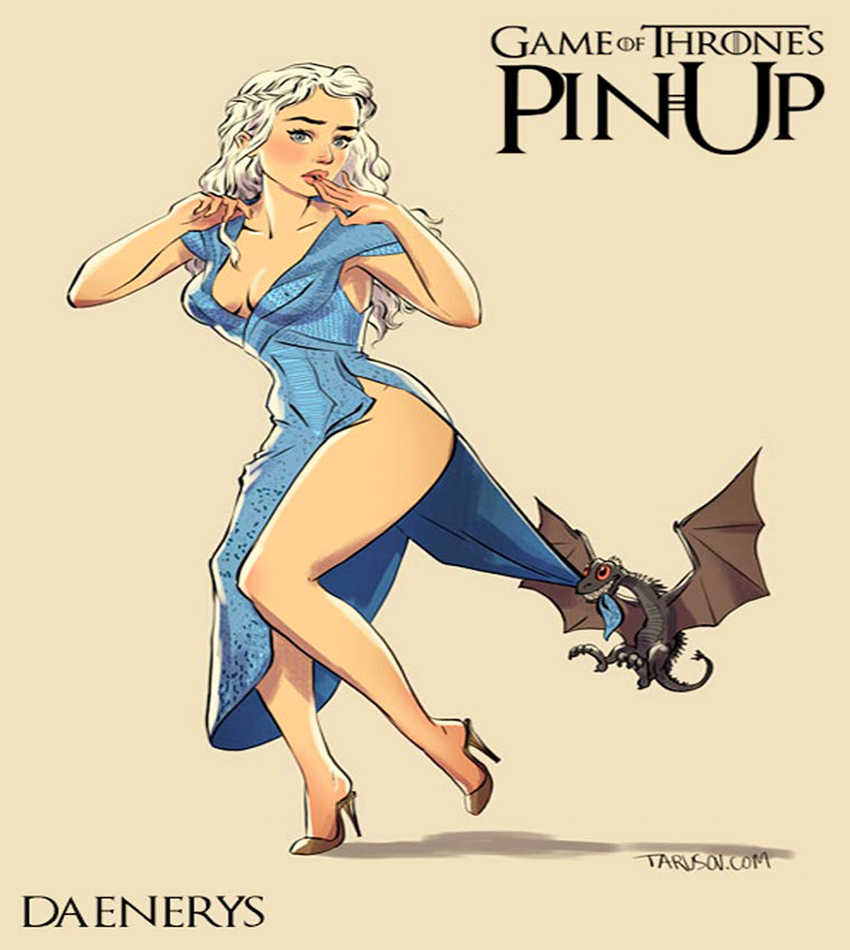 Andrew Tarusov – Game of Thrones Pin Ups