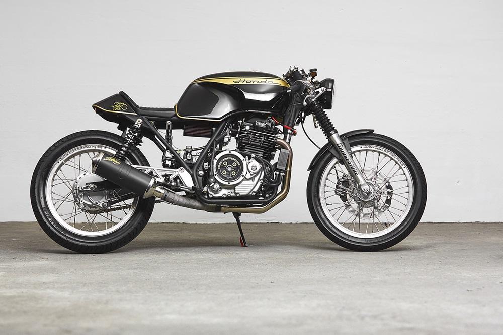 271 Design: кафе рейсер Honda GB500 TT