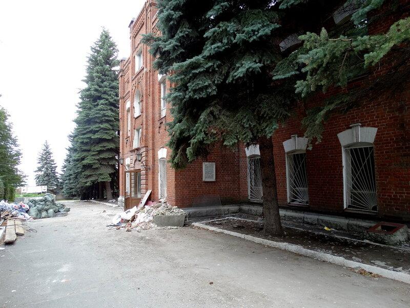 Красные казармы. Сентябрь 2014 г.