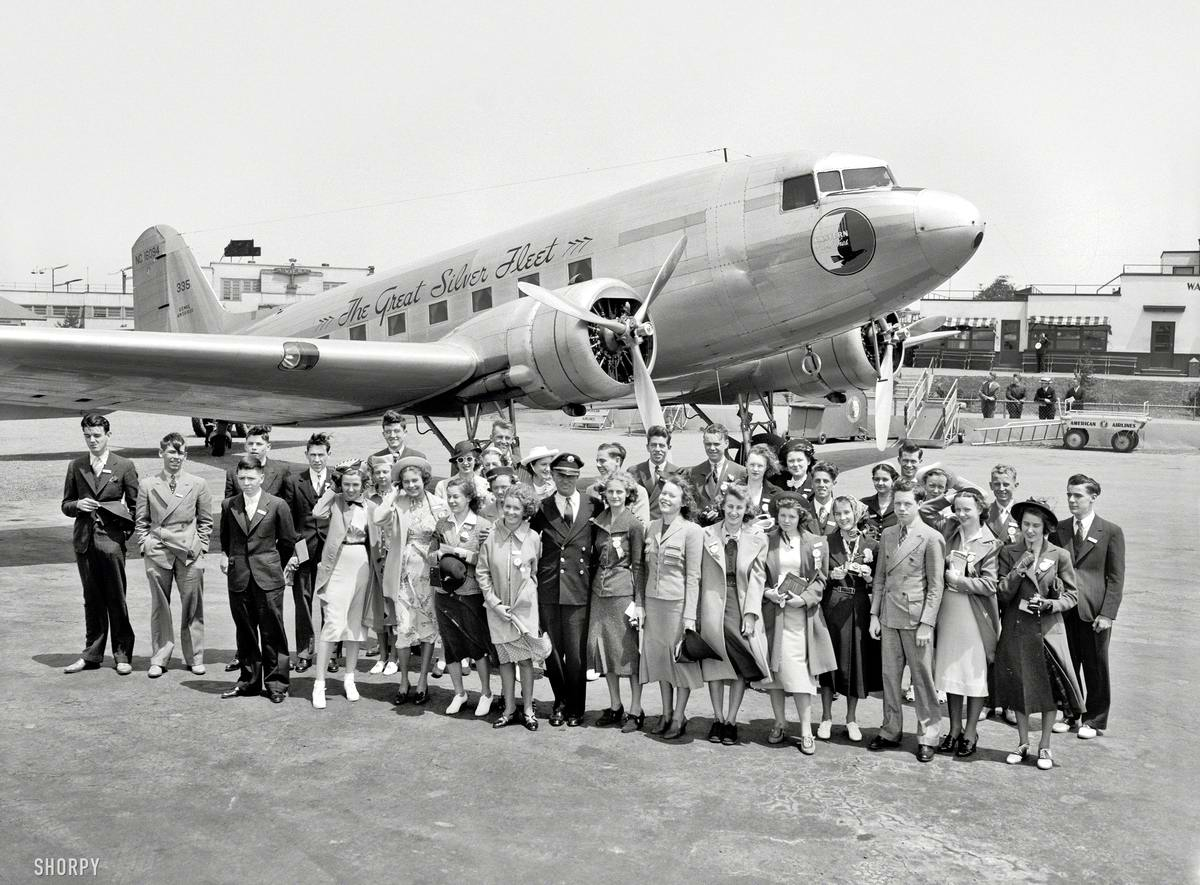 Самолеты и пилоты начала 20-го века на снимках американских фотографов (42)