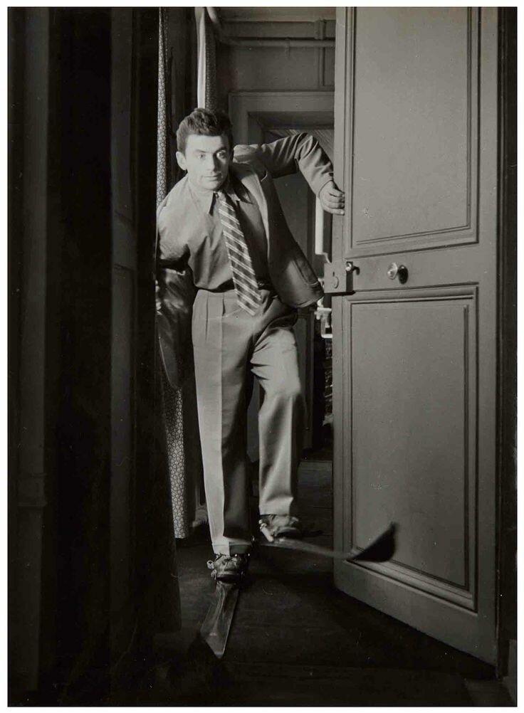 1950. Портрет Мориса Буке