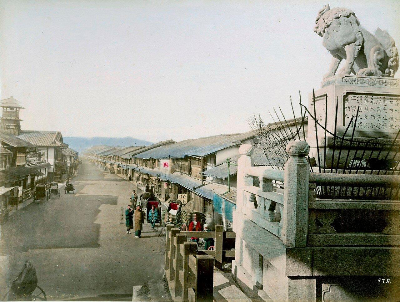 Киото. Улица Гион-мати