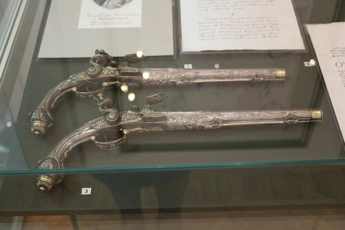Пистолеты кремнёвые