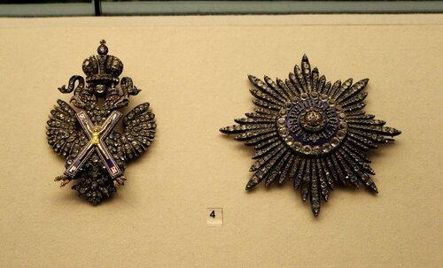 Знак и звезда ордена св.Андрея Первозванного