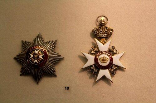 Звезда и знак ордена Короны