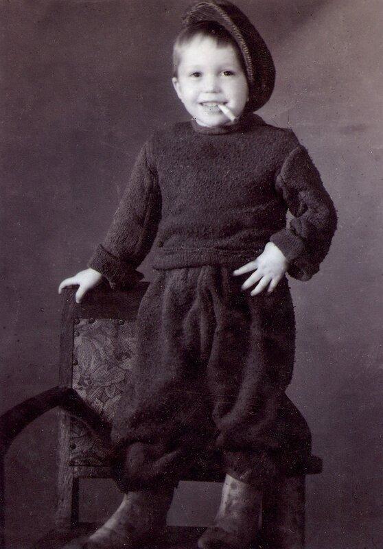 Олег Марусев. 1949 год.