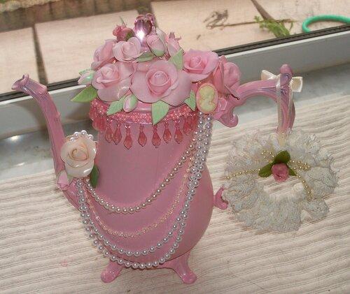 Декорирование розами