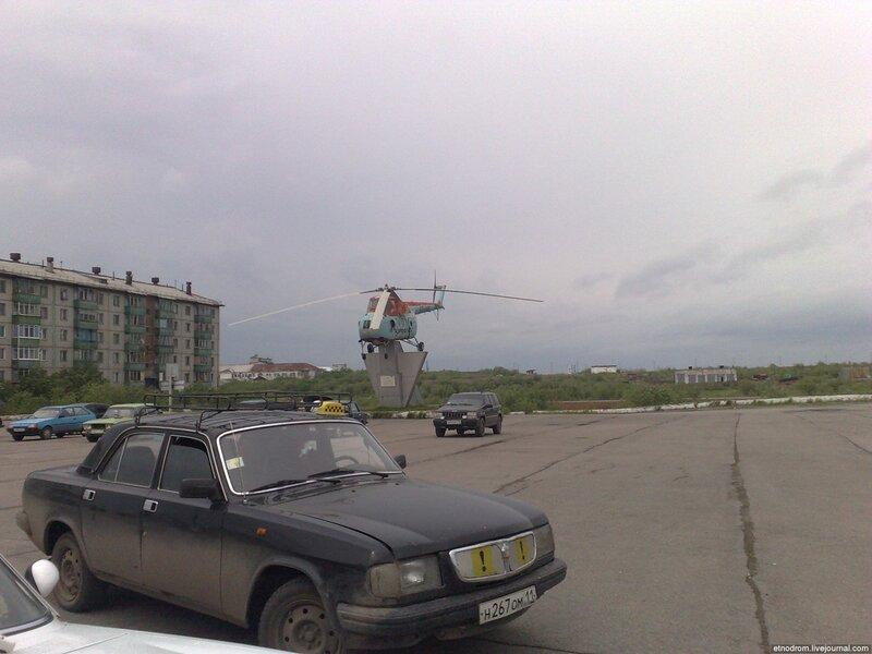 Площадь перед аэропортом