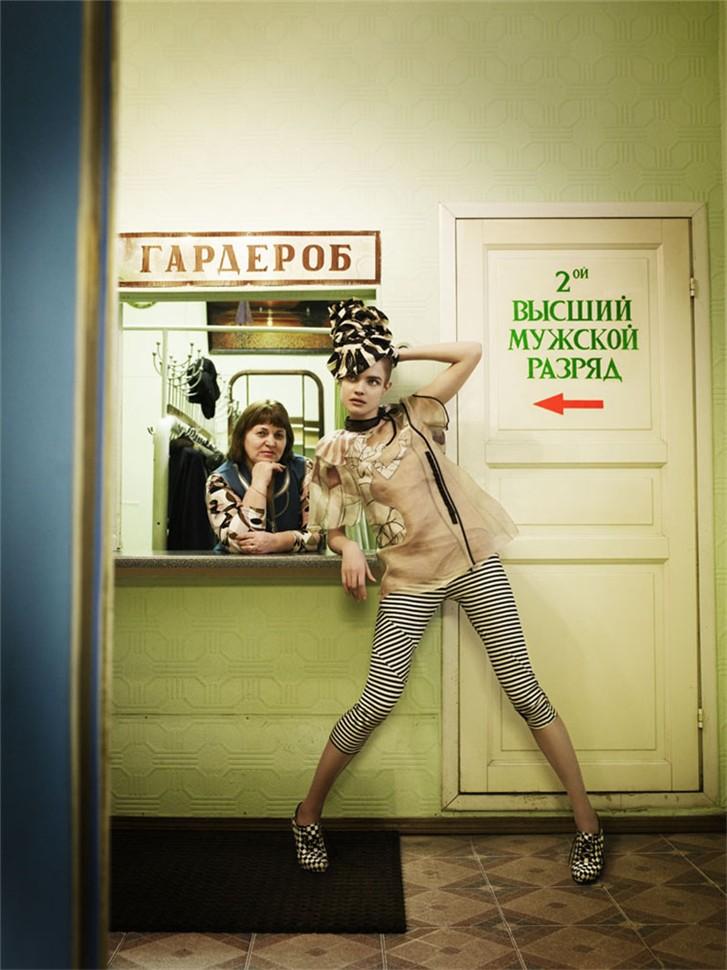 Наталья Водянова / Natalia Vodianova by Mario Testino