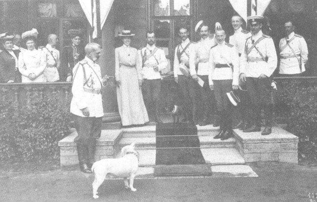 Царская фамилия_1907г
