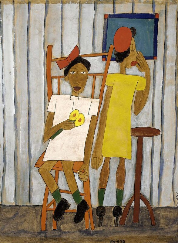 William H. Johnson: Going Out, 1939
