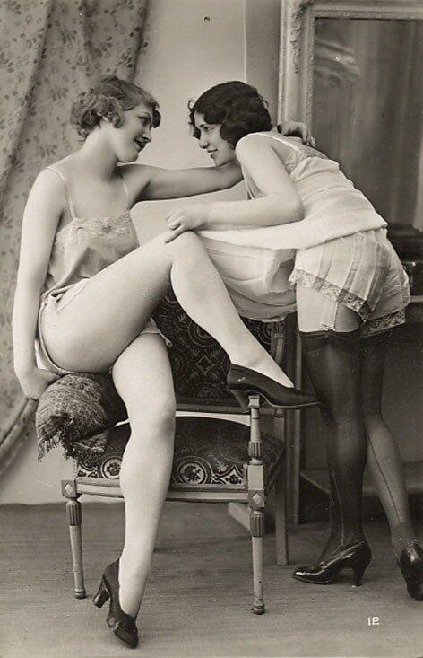 Винтажная эротика. Vintage nude