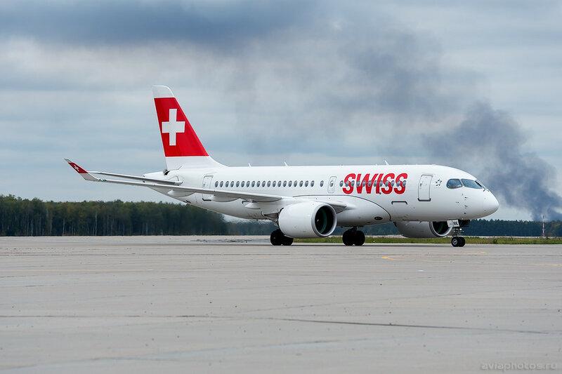 Bombardier CSeries CS100 (HB-JBE) Swiss 0052_D706484