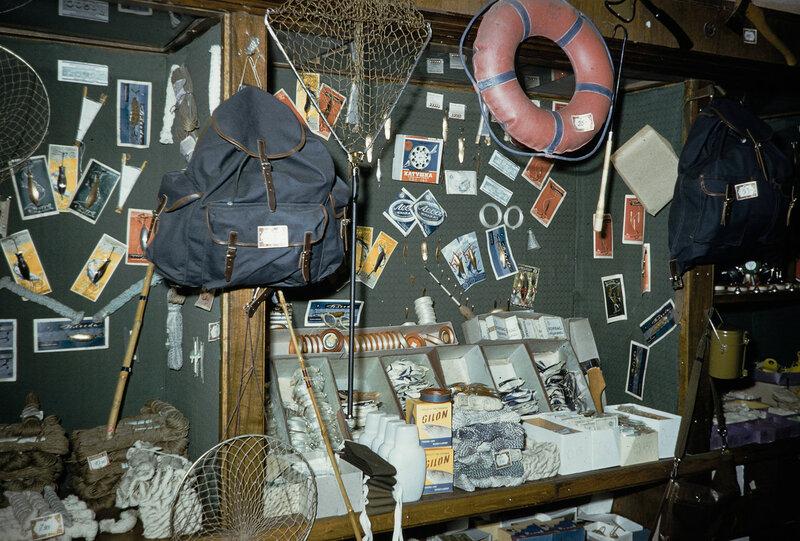 1959 Рыболовный товар в Москве. Harrison Forman.jpg