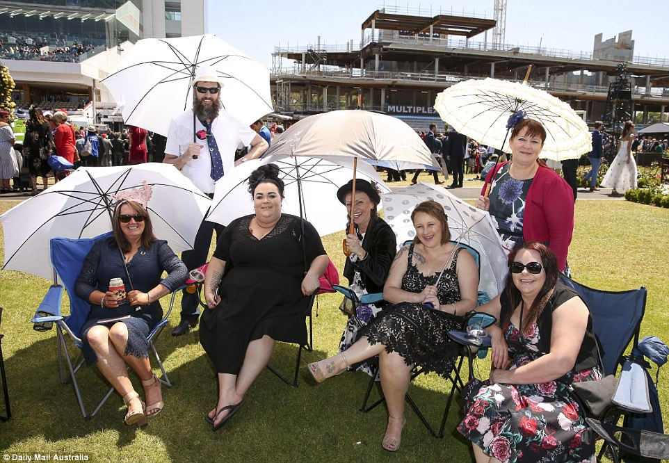 Женский день на скачках в Мельбурне