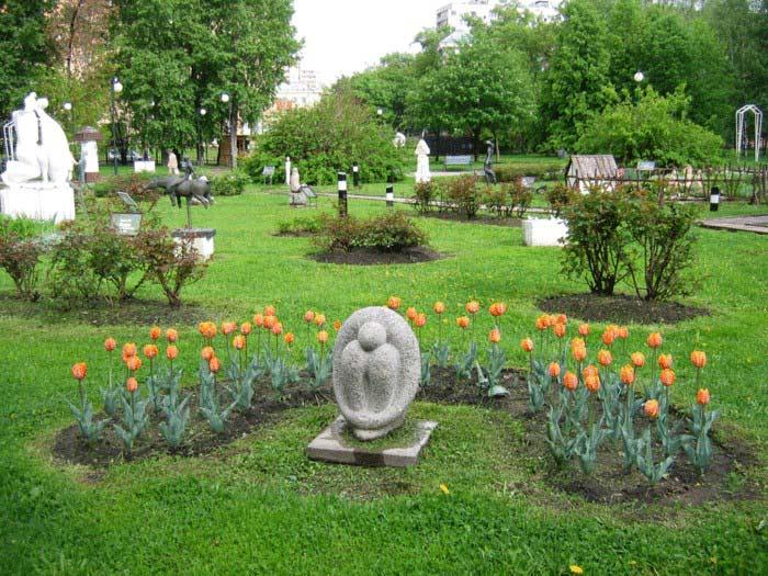 достопримечательности в парках Москвы