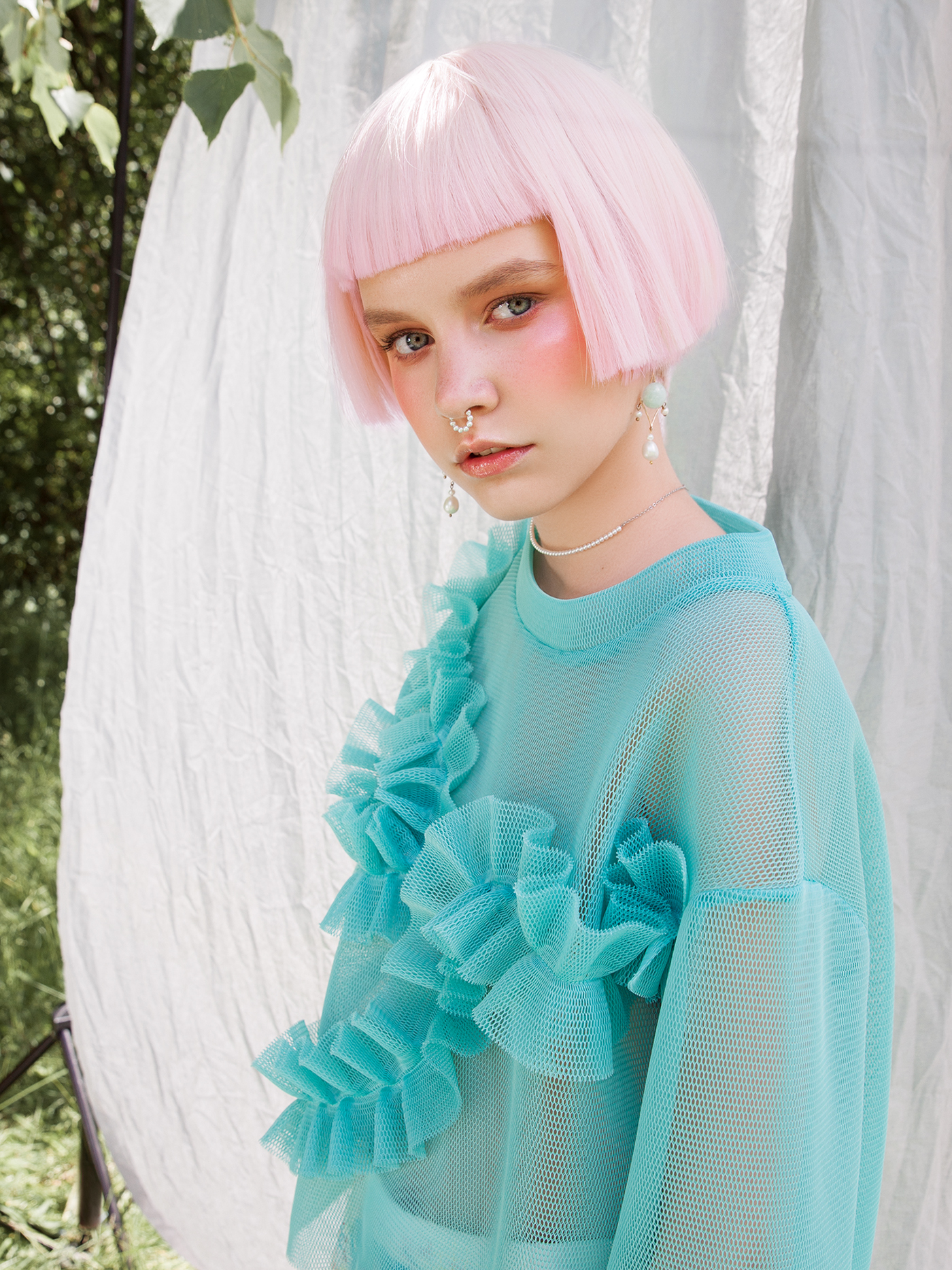 Remember last summer in Lucy's magazine / фото Anna Bakhareva
