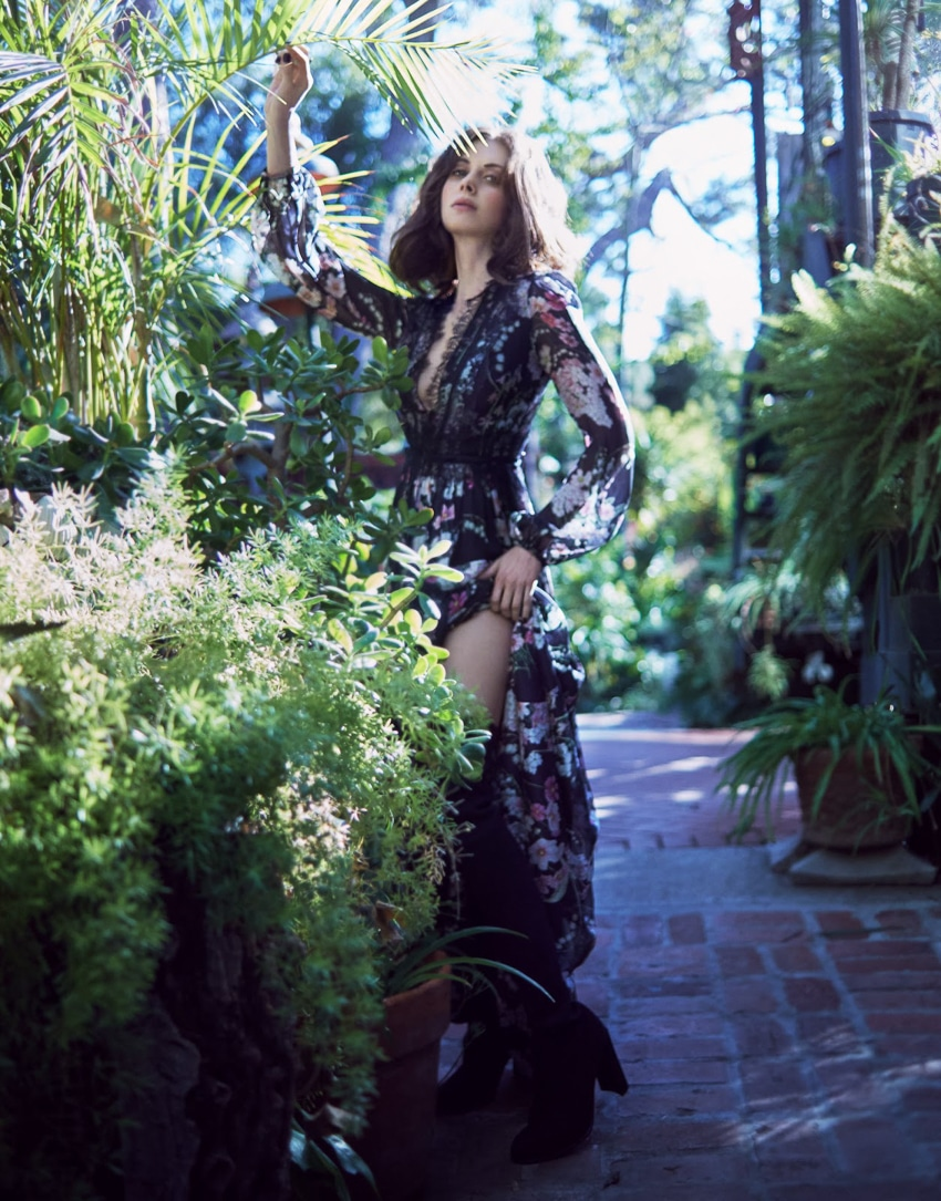 Alison Brie by Txema Yeste for The Edit Magazine December 2017