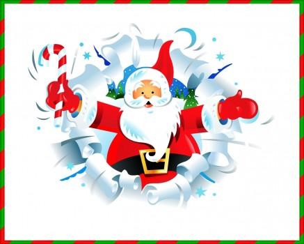 Открытки. День рождения Дедушки Мороза. Вот он, новорожденный открытки фото рисунки картинки поздравления