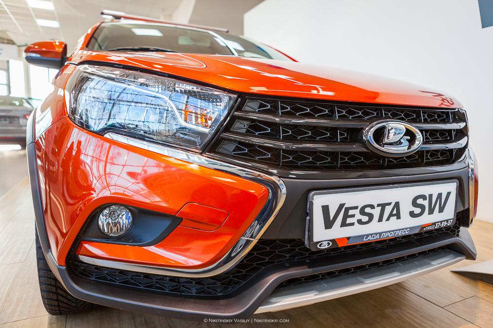 Премьера. Lada Vesta SW Cross