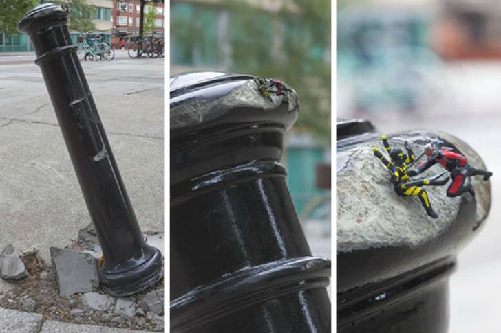 Когда вандализм можно превратить в шутку (19 фото)