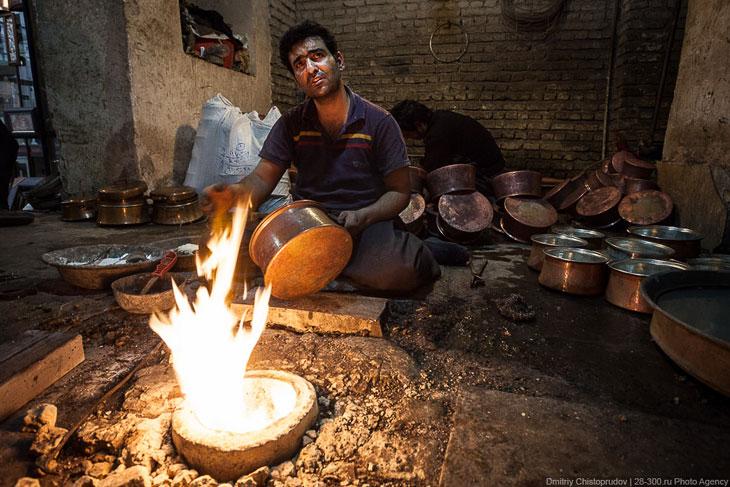 Настоящий иранский базар (39 фото)