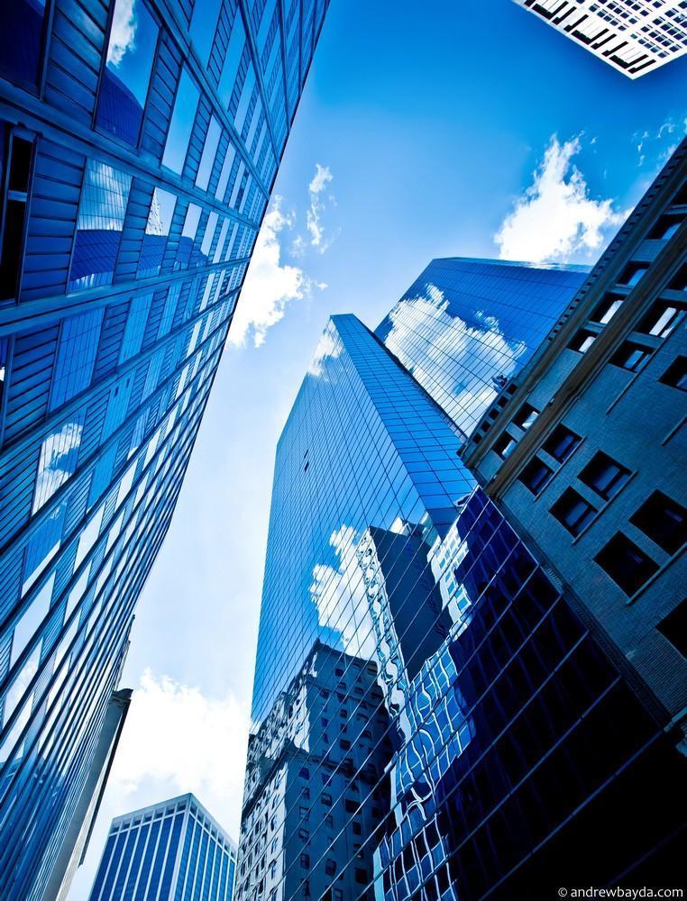 Весь остаток дня мы провели в прогулках по Нью-Йорку среди небоскребов 5-й авеню.