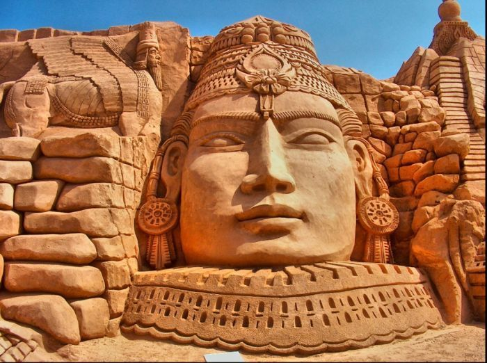 Такую фото-подборку Вы ещё не видели: самые необычные скульптуры из песка (54 фото)