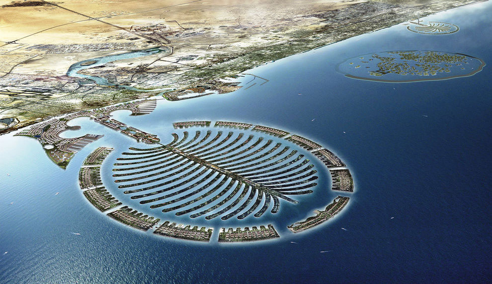 После завершения строительства, Пальма Дейра станет  самым крупным в истории человечества ант