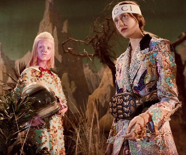 #gucciandbeyond: Gucci Fall Winter 2017.18 by Glen Luchford