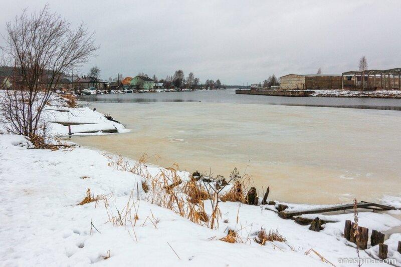 Река Вытегра